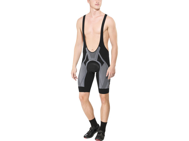 X-Bionic The Trick Bib Shorts Heren, black/white